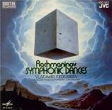 RACHMANINOV - Fedoseyev - Danses symphoniques pour orchestre op.45 import Japon