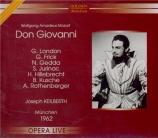 MOZART - Keilberth - Don Giovanni (Don Juan), dramma giocoso en deux act