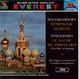 RACHMANINOV - Goossens - Danses symphoniques pour orchestre op.45
