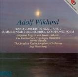 WIKLUND - Edgren - Concerto pour piano n°1 en mi mineur op.10