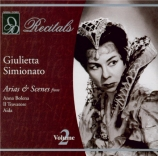 DONIZETTI - Simionato - Anna Bolena : extraits (Live performances vol.2) Live performances vol.2