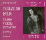 WAGNER - Stein - Tristan und Isolde (Tristan et Isolde) WWV.90 live Wien, 5 - 12 - 1976