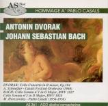 DVORAK - Casals - Concerto pour violoncelle n°2 op.104
