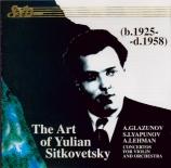 GLAZUNOV - Sitkovetsky - Concerto pour violon op.82