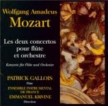 MOZART - Gallois - Concerto pour flûte et orchestre n°1 en sol majeur K