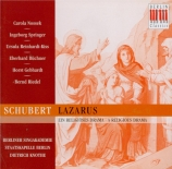 SCHUBERT - Knothe - Lazarus oder Die Feter der Auferstehung, cantate de
