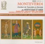 MONTEVERDI - Hasler - Combattimento di Tancredi e Clorinda, pour deux vo