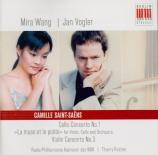 SAINT-SAËNS - Vogler - Concerto pour violoncelle n°1 op.33
