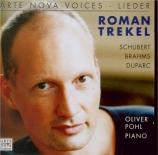 SCHUBERT - Trekel - Auf der Bruck (Schulze), lied pour voix et piano op
