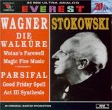 WAGNER - Stokowski - Die Walküre (La Walkyrie) WWV.86b : adieux de Wotan