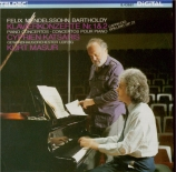 MENDELSSOHN-BARTHOLDY - Katsaris - Concerto pour piano n°1 op.25
