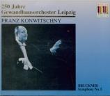BRUCKNER - Konwitschny - Symphonie n°5 en si bémol majeur WAB 105