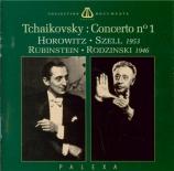 TCHAIKOVSKY - Horowitz - Concerto pour piano n°1 en si bémol mineur op.2 2 versions 1946 - 53