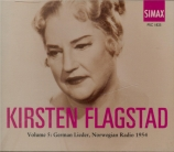 German Lieder, Norvegian Radio 1954