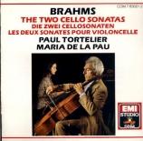 BRAHMS - Tortelier - Sonate pour violoncelle et piano n°1 en mi mineur o