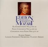MOZART - Serkin - Concerto pour piano n°9 K.271
