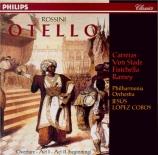 ROSSINI - Lopez-Cobos - Otello (sans livret) sans livret