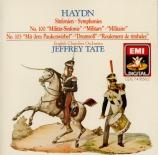 HAYDN - Tate - Symphonie n°100 Hob.I.100 'Militaire'