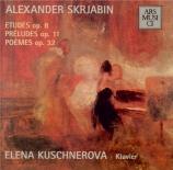 SCRIABINE - Kuschnerova - Douze études pour piano op.8