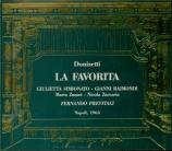 DONIZETTI - Previtali - La favorita (La favorite) live Napoli, 12 - 5 - 1963