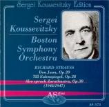 STRAUSS - Koussevitsky - Don Juan op.20