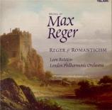 REGER - Botstein - Quatre poèmes symphoniques d'après Böcklin, pour orch