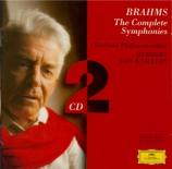 BRAHMS - Karajan - Symphonies (intégrale)