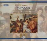 HAENDEL - Somary - Theodora, oratorio HWV.68