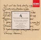 VAUGHAN WILLIAMS - Willcocks - Five tudor portraits