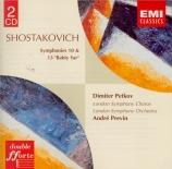 CHOSTAKOVITCH - Previn - Symphonie n°10 op.93