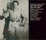 MOZART - Böhm - Le nozze di Figaro (Les noces de Figaro), opéra bouffe e Stuttgarter Rundfunk, 25 - 10 - 1938 (en allemand)