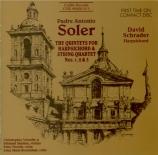 Quintets for Harpsichord & Strings Vol.1