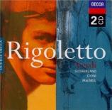 VERDI - Sanzogno - Rigoletto, opéra en trois actes
