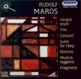 MAROS - Lehel - Cinq études pour orchestre