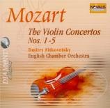 MOZART - Sitkovetsky - Concerto pour violon et orchestre n°1 en si bémol