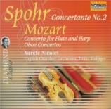 SPOHR - Holliger - Concertante n°2 pour violon, harpe et orchestre