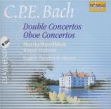 BACH - Haselböck - Double concerto pour pianoforte et clavecin Wq.109