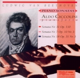 BEETHOVEN - Ciccolini - Sonate pour piano n°31 op.110