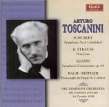 SCHUBERT - Toscanini - Symphonie n°8 en si mineur D.759 'Inachevée' Live 14 - 10 - 1939
