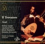 VERDI - Karajan - Il trovatore, opéra en quatre actes (version originale live Salzburg 31 - 7 - 1962