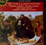 ZELENKA - Chandos Baroque - Lamentationes Jeremiae Prophetae, ZWV.53