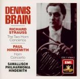 STRAUSS - Brain - Concerto pour cor n°1 op.11