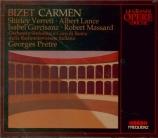 BIZET - Prêtre - Carmen, opéra comique WD.31 (Live Roma 14 - 12 - 1967) Live Roma 14 - 12 - 1967