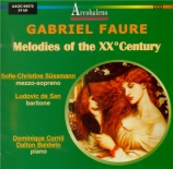 Mélodies du XXème siècle