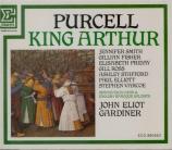 PURCELL - Gardiner - King Arthur (Le Roi Arthur), semi-opéra Z.628