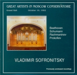 Great Artists in Moscow Conservatoire live Moscou 10/10/1952