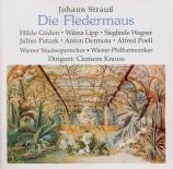 STRAUSS - Krauss - Die Fledermaus (La chauve-souris), opérette WoO RV.50