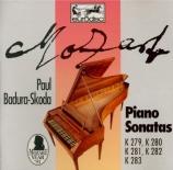 MOZART - Badura-Skoda - Sonate pour piano n°1 en do majeur K.279 (K6.189