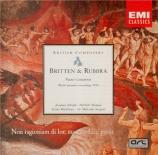 BRITTEN - Sargent - Prelude et fugue, pour dix-huit cordes op.29