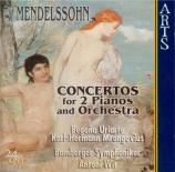 MENDELSSOHN-BARTHOLDY - Wit - Concerto double pour deux pianos et orches